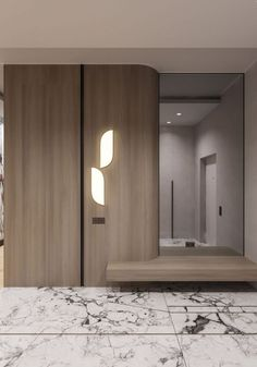 35 Bedroom Wardrobe Design Ideas Trending Right Now – Home Trends 2020 Design Hall, Flur Design, Wardrobe Door Designs, Wardrobe Design Bedroom, Hall Wardrobe, Modern Interior, Home Interior Design, Lobby Interior, Dressing Design