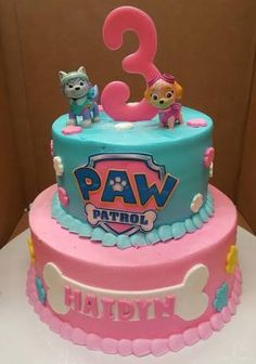 Image result for skye paw patrol cake