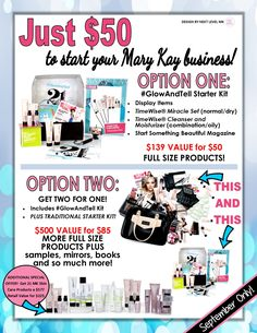 mary kay starter kit options for september 2015 perfect team building opportunity bgardner3150