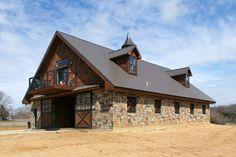 Barn & house