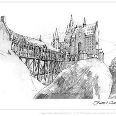 A sketch of Hogwarts