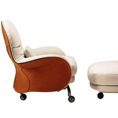 Based on the design of a saddle Louisiana armchair designed by Vico for De Padova. Iconic in every way