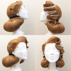 Likes, 76 Kommentare - ⠀⠀⠀⠀⠀⠀⠀⠀⠀⠀ Edu VonGomes® (Edu Ka . Cabelo Pin Up, Cabelo Ombre Hair, 1940s Hairstyles, Wedding Hairstyles, Cool Hairstyles, Vintage Hairstyles Tutorial, Everyday Hairstyles, Wig Styles, Long Hair Styles