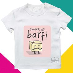 This cute little kids tee (also available as a babygrow) is the perfect gift for a newborn as well as Diwali gift for any young toddler. Festival Lights, New Dads, Order Prints, Funny Tshirts, Baby Kids, Kids Outfits, Diwali, Trending Outfits, Sweet
