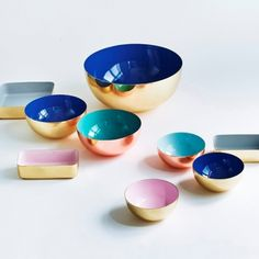decovry.com - Louise Roe | Colourful Storage Bowls