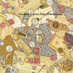 """sewing theme fabric 