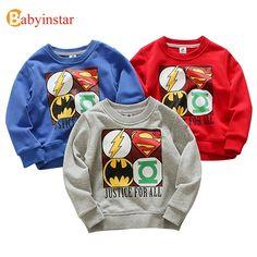Babyinstar 2018 Boys Girls T-shirts Kids Cute Cartoon Pattern Round Neck Top Children Clothing Boys Girls T-shirt //Price: $19.98 // ##babyfashion
