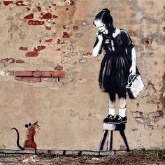 Looking for London Street art, graffiti, illustration in the UK? 30 amazing street art designs 2020 in London, UK. Best Street in London to See Graffiti. Banksy Graffiti, Banksy Rat, Banksy Work, Graffiti Artwork, Bansky, Graffiti Artists, Graffiti Drawing, Banksy Artist, Banksy Canvas