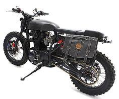 Yamaha XS 650 Scrambler by White Collar Bike #motorcycles #scrambler #motos | caferacerpasion.com