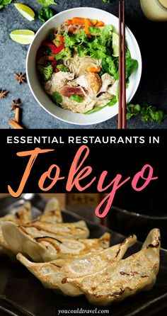Essential Tokyo Restaurants - Wondering what are the essential restaurants you need to visit in Tokyo? Here are some of the best restaurants in Tokyo to try amazing Japanese food. Each restaurant is tailored for particular Japanese dishes and our list has options for all budgets and types of travellers. Hungry yet? #food #japan #tokyo #restaurants