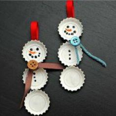 snowman Xmas ornaments
