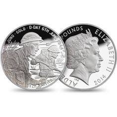 70th Anniversary of D-Day 2014 Alderney £5 Silver Proof Coin £80.00 Struck in 925 sterling silver. Finished to Royal Mint Proof quality. 1,944 coins recall the pivotal date.
