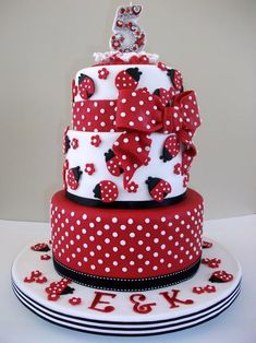 cakes | Polka Dot Cakes: You'll Go Dotty for These Spotted Cakes