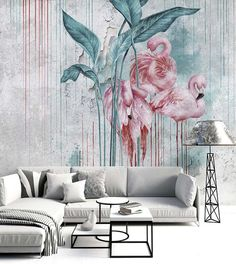 Nakuru - Customized Unique Wallpaper, Removable, Washable and Reusable
