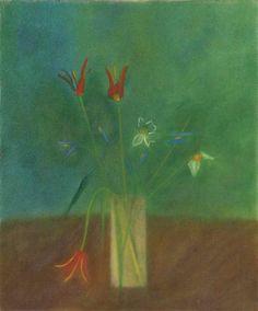 Craigie Aitchison, Aladdin Tulips