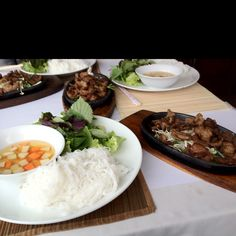 ベトナム料理のブンチャー