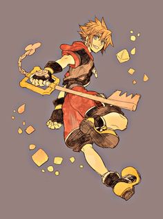 Sora - I love Kingdom Hearts.  I wish they'd put more of this stuff in the park rather than Marvel!