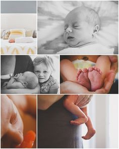 A Hampstead NC Lifestyle Newborn Photography Session by Erika Rigger Photography – Click here to see more images from this sweet session!