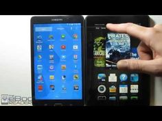 ▶ Kindle Fire HDX vs Samsung Galaxy Tab 4 Comparison Review - YouTube