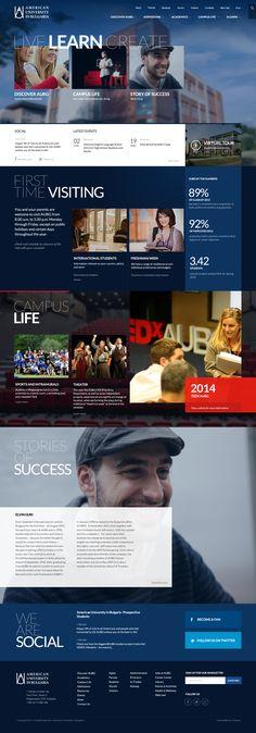 American University in Bulgaria #webdesign #school                                                                                                                                                                                 More