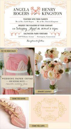 Wedding Paper Divas romantic inspiration