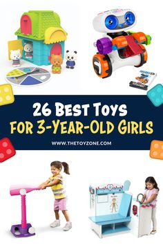 Do you have an active three-year-olds with toys they've lost interest in? Toys focused on friendly competition and role play and perfect options for Girls. Check out this list of 26 Best Toys for Girls in 3 Year Old Christmas Gifts, Gifts For 3 Year Old Girls, Christmas Presents For Girls, Christmas Toys, 3 Year Old Toys, Best Toddler Toys, Activities For Girls, Cool Toys For Girls