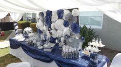 Candy table/ backdrop #GracefulEventsbyShondra