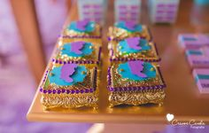 Jeweled boxes from Colorful Princess Jasmine Birthday Party at Kara's Party Ideas. See more at karaspartyideas.com!