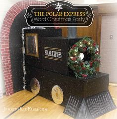 Jenkins Kid Farm: Polar Express Ward Christmas Party #polarexpress #wardchristmasparty #christmasparty