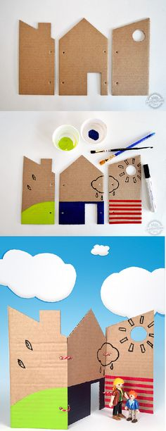Kids Beach Activities, Beach Kids, Coloring Sheets, Paper Art, Jr, Crafts For Kids, Felt, Crafty, Make It Yourself