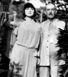 Rosa Ponselle and Giacomo Puccini.  He said he wished he'd heard her voice earlier in his life so he could write for her.