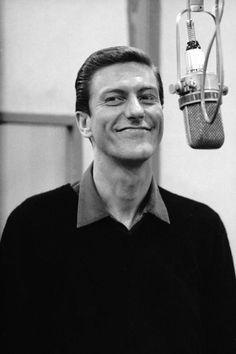 """Dick Van Dyke in the recording studio - """"Bye Bye Birdie"""""""
