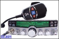 Delboy's Radio Blog: Cobra 29LXMAX Buttons & Features