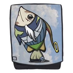 Arieff the Angel Fish v1 Boldface Backpack  $59.32  by lowvincentyh  - cyo customize personalize diy idea