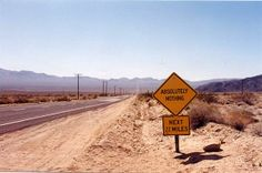 Fort Irwin Military Reservation. Better bring water!