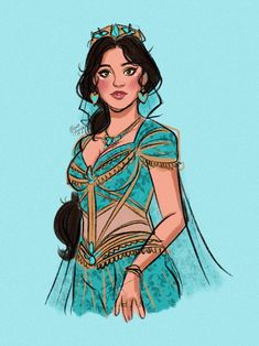 Drawing inspired by Naomi Scott as Princess Jasmine in the Aladdin movie Princess Jasmine Art, Disney Princess Art, Disney Fan Art, Aladdin Princess, Flame Princess, Princess Aurora, Disney And Dreamworks, Disney Pixar, Walt Disney