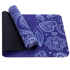 TOPLUS Yoga Mat – Upgraded Yoga Mat Eco Friendly Non-Slip Exercise & Fitness Mat with Carrying Strap, Workout Mat for All Type of Yoga, Pilates inch – Yoga Club Workout Mat, No Equipment Workout, Chest Workouts, At Home Workouts, Glow Up Tips, Workout Essentials, Flexibility Workout, Types Of Yoga, Online Yoga