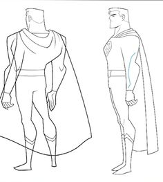 F/Yeah Album of Stuff I Like - Justice League Action model sheets for Batman,...