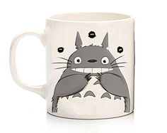 My Neighbor Totoro Coffee Mug, Anime Coffee Cup, Big Tea Cup, Custom Mug, Cat Cup, Hayao Miazaki Mug Mz http://www.amazon.com/dp/B019HN9VVO/ref=cm_sw_r_pi_dp_JsuVwb02RX8XA
