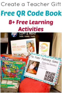 Create this great teaching activities pack for any early elementary teacher in your life to give them some great tools to use! (And save them some money!)
