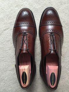 Allen Edmonds Dark Chili Strands Mens Shoes Boots, Sock Shoes, Shoe Boots, Dress Loafers, Dress Shoes, Allen Edmonds Shoes, Allen Edmonds Strand, Gents Shoes, Desert Shoes