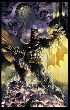 Jim Lee Batman  by BDStevens