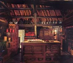 Old japanese kitchen interiors pinterest japanese for Traditional japanese kitchen