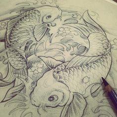 ภาพสเก็ตปลาคราฟก่อนทำ