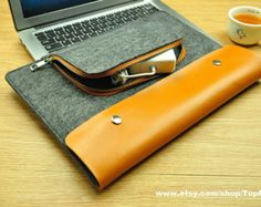 Felt Laptop Bag for Macbook 11inch 12inch 13inch 15inch от TopFelt