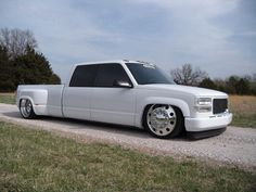 GMC crew cab dually. .