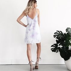 Easy to wear summer dresses are rolling in! Violet dyed mini dress in stock at Cocoa Beach $52