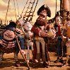 We loved Pirates, a claymation film which is silly without being stupid, and which features Charles Darwin, Queen Victoria, and a bit part for Jane Austen, as well as many pirates in thrilling adventures and chases.