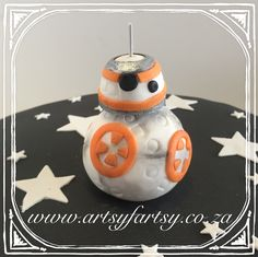 BB8 Star Wars Cake #bb8starwarscake
