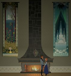 Anna's ballroom detail by Brittany Williams